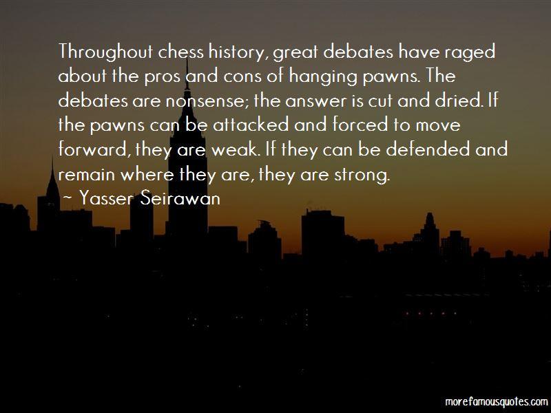 Yasser Seirawan Quotes