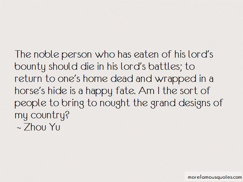 Zhou Yu Quotes Pictures 3