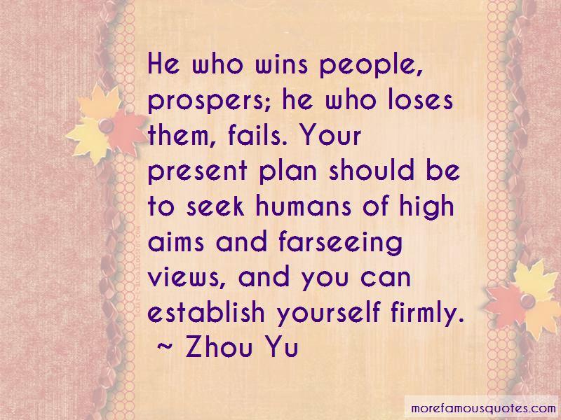 Zhou Yu Quotes