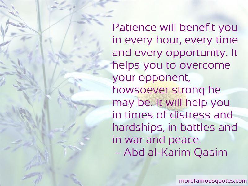 Abd Al-Karim Qasim Quotes