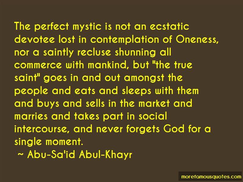 Abu-Sa'id Abul-Khayr Quotes