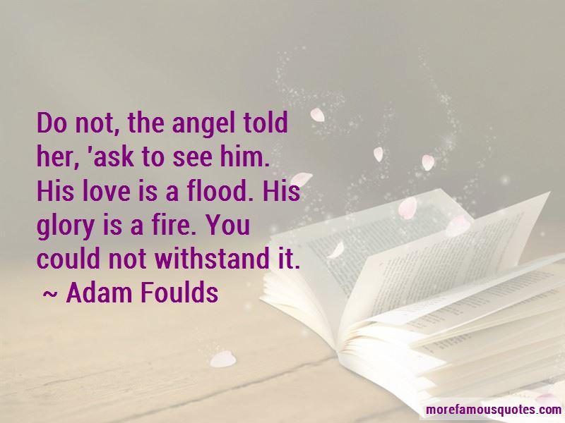 Adam Foulds Quotes