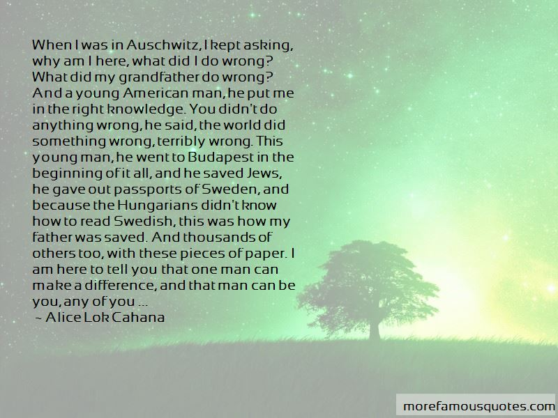 Alice Lok Cahana Quotes Pictures 2