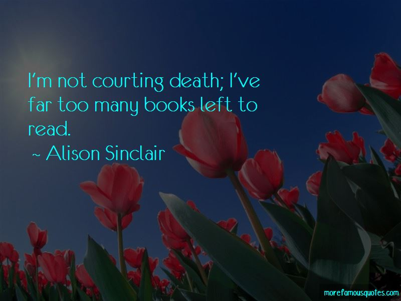 Alison Sinclair Quotes Pictures 2