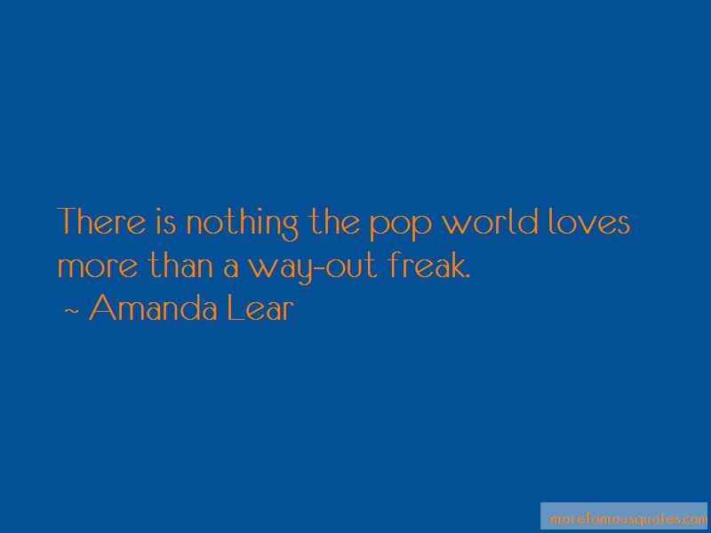 Amanda Lear Quotes Pictures 2