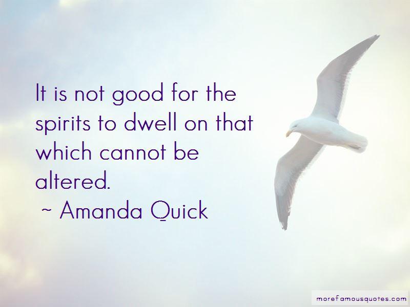 Amanda Quick Quotes