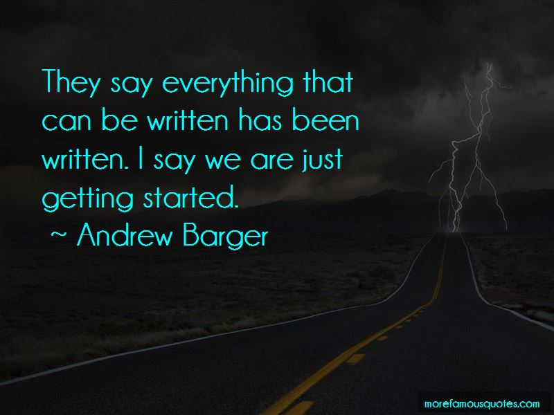 Andrew Barger Quotes Pictures 2