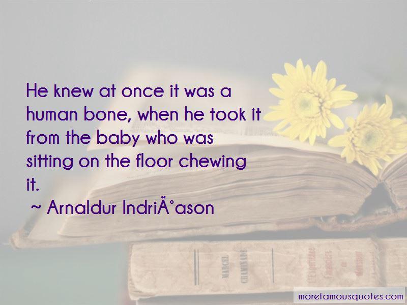 Arnaldur Indridason Quotes