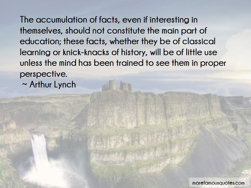 Arthur Lynch Quotes Pictures 2