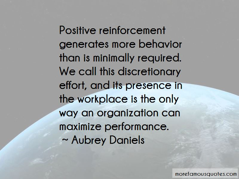 Aubrey Daniels Quotes Pictures 3