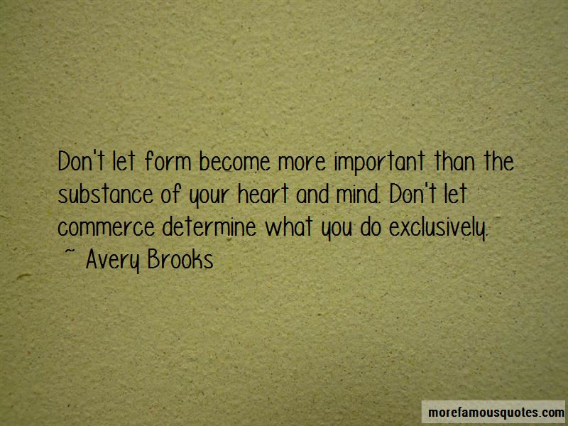 Avery Brooks Quotes Pictures 3