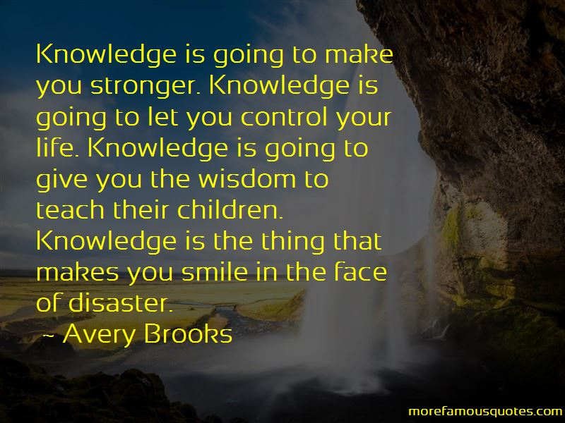 Avery Brooks Quotes Pictures 4