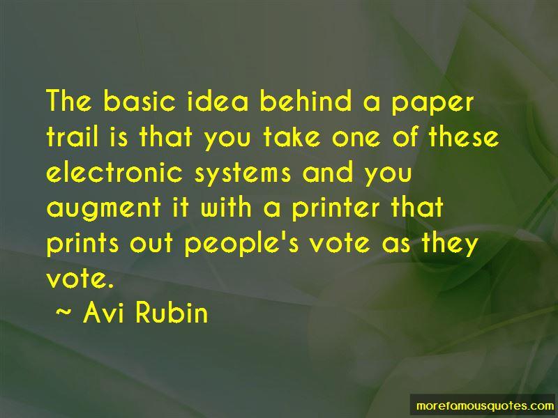Avi Rubin Quotes Pictures 2