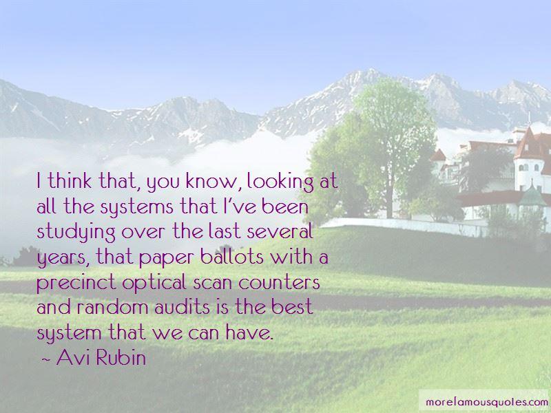 Avi Rubin Quotes Pictures 4