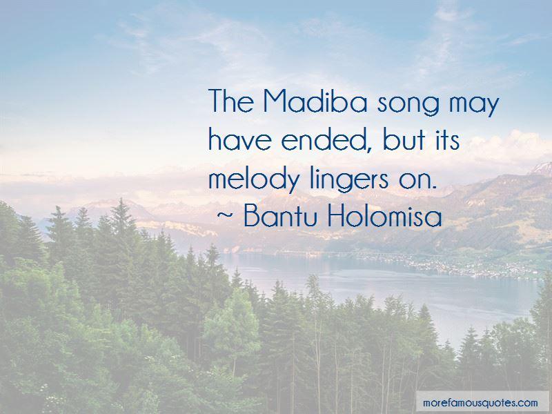Bantu Holomisa Quotes