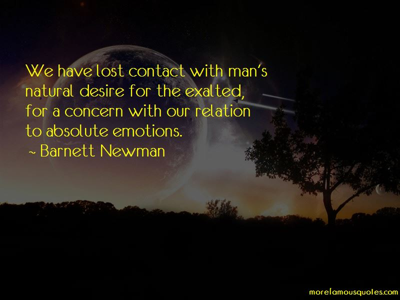 Barnett Newman Quotes Pictures 2