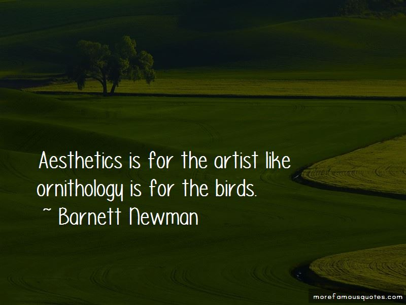 Barnett Newman Quotes Pictures 3