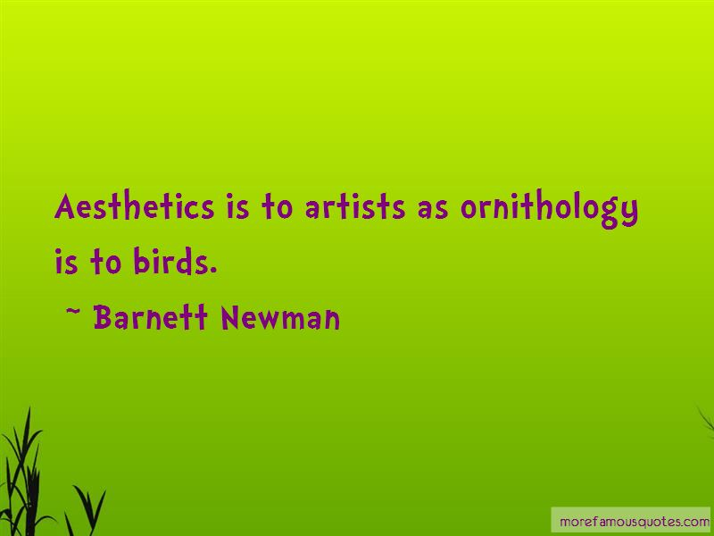 Barnett Newman Quotes Pictures 4
