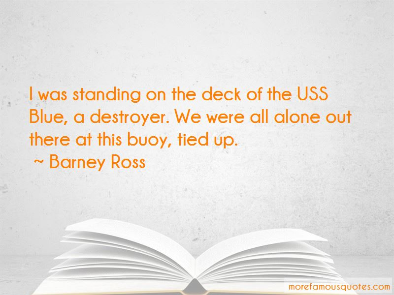 Barney Ross Quotes