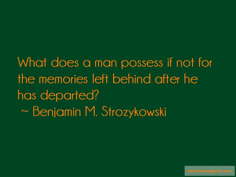 Benjamin M. Strozykowski Quotes Pictures 3