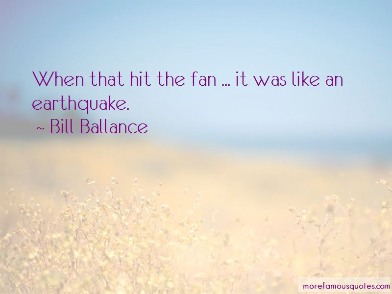 Bill Ballance Quotes Pictures 3