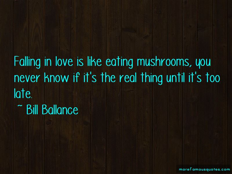 Bill Ballance Quotes Pictures 4