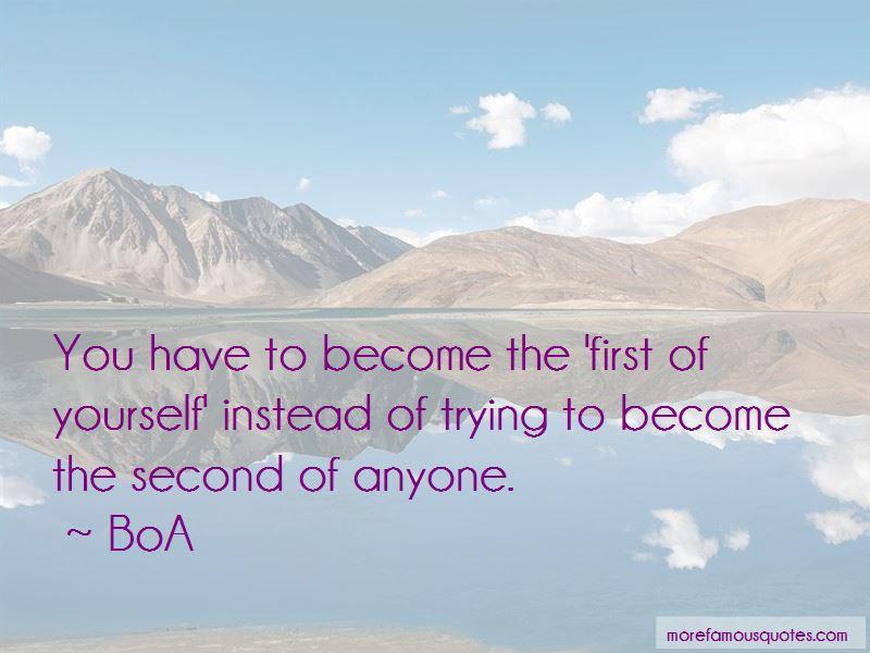 BoA Quotes