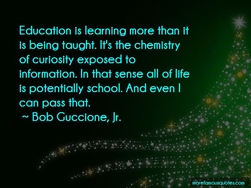 Bob Guccione, Jr. Quotes
