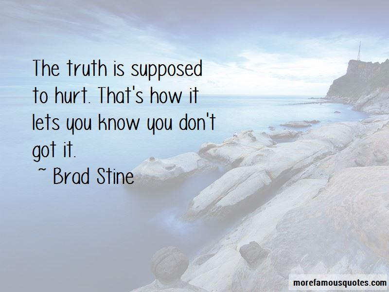 Brad Stine Quotes Pictures 3