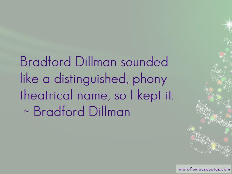 Bradford Dillman Quotes Pictures 4