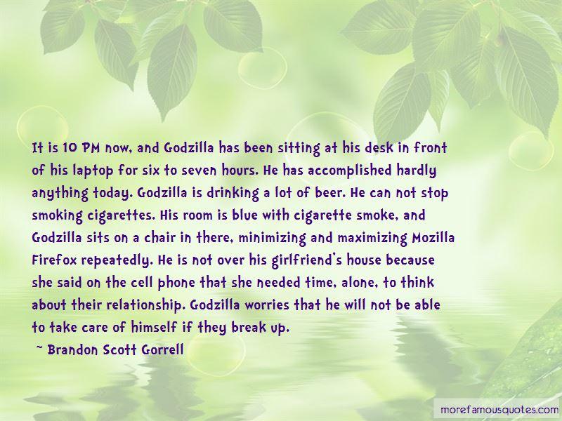 Brandon Scott Gorrell Quotes