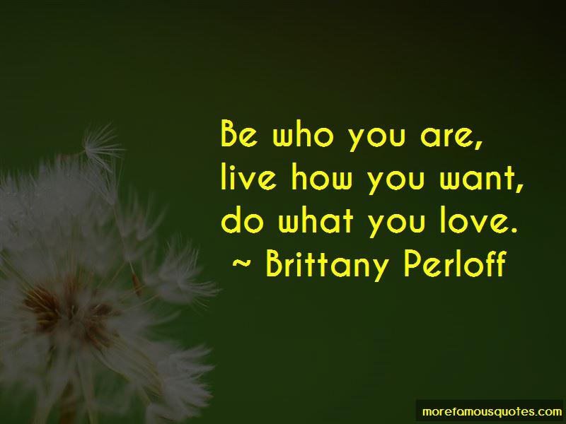Brittany Perloff Quotes Pictures 2