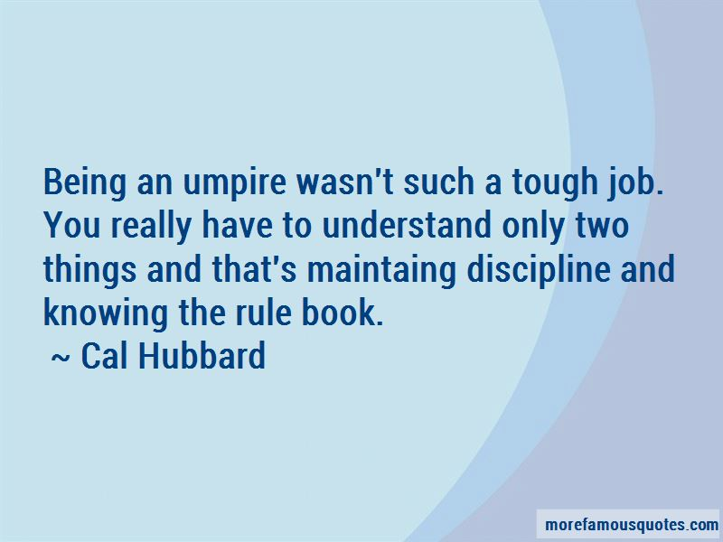 Cal Hubbard Quotes Pictures 2