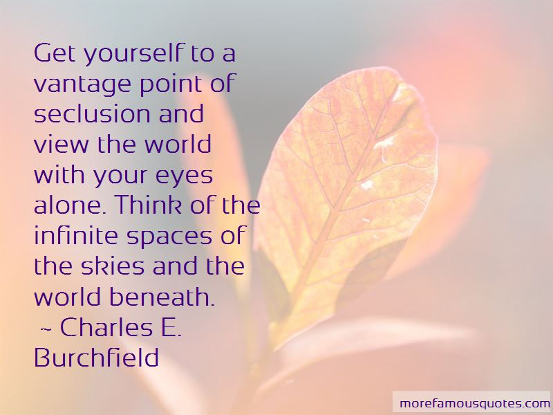 Charles E. Burchfield Quotes Pictures 2
