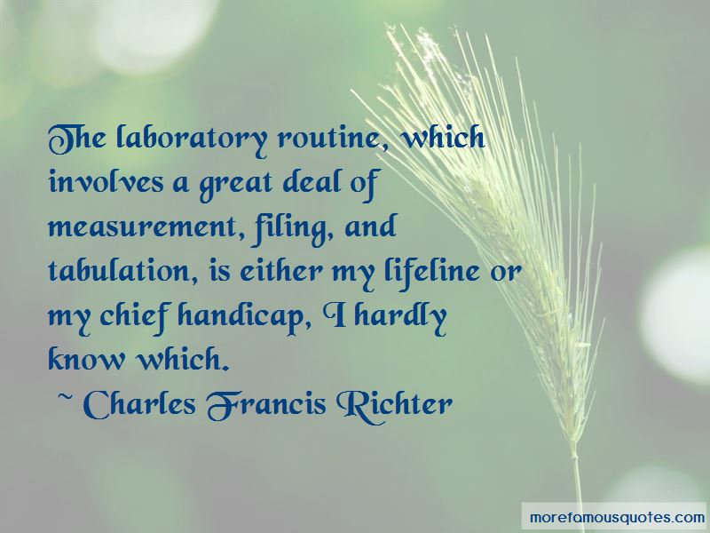 Charles Francis Richter Quotes Pictures 3