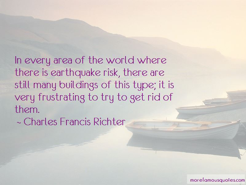 Charles Francis Richter Quotes