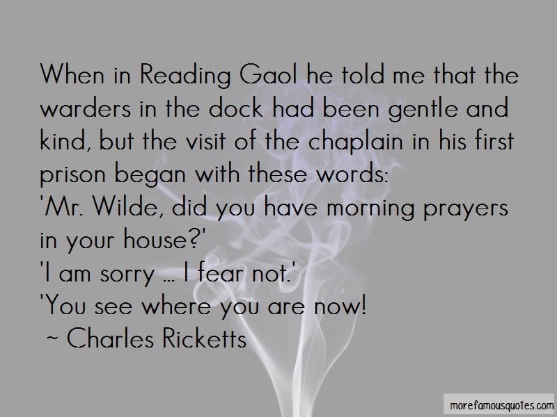 Charles Ricketts Quotes