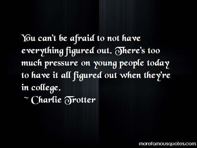 Charlie Trotter Quotes Pictures 3