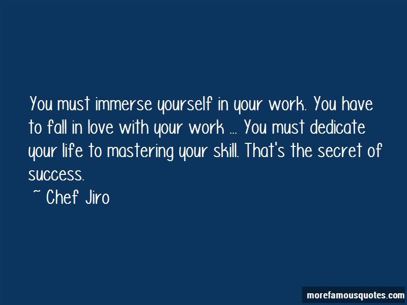 Chef Jiro Quotes