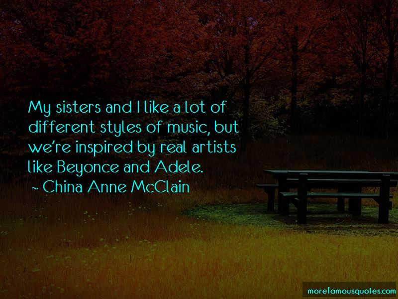 China Anne McClain Quotes Pictures 2
