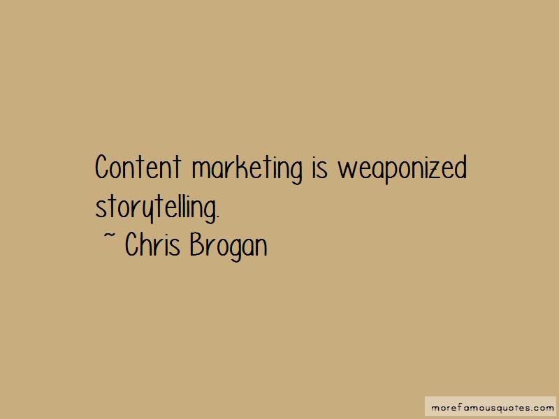 Chris Brogan Quotes Pictures 2