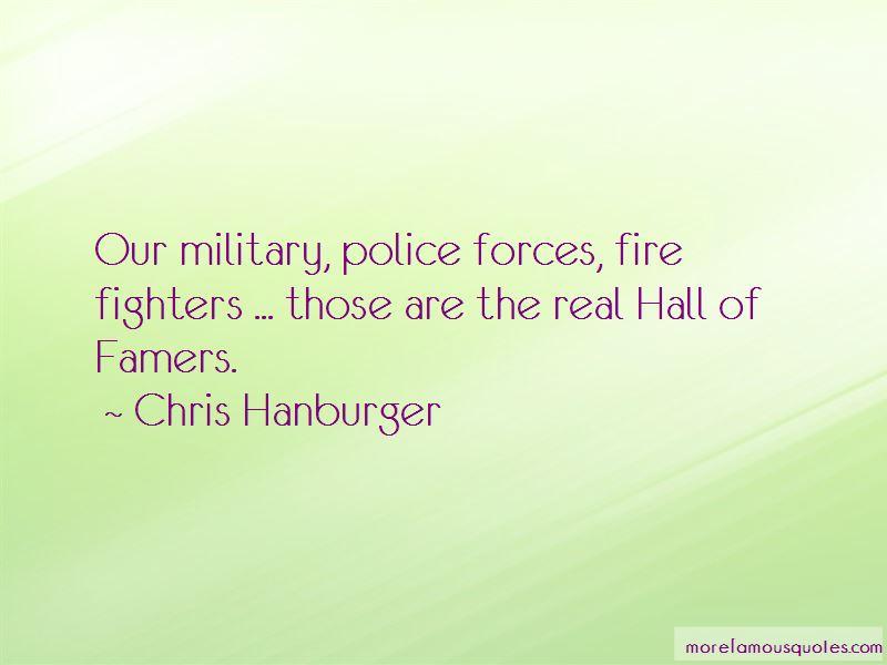 Chris Hanburger Quotes Pictures 2