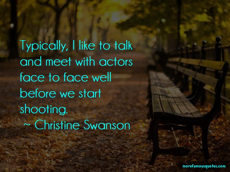 Christine Swanson Quotes Pictures 2
