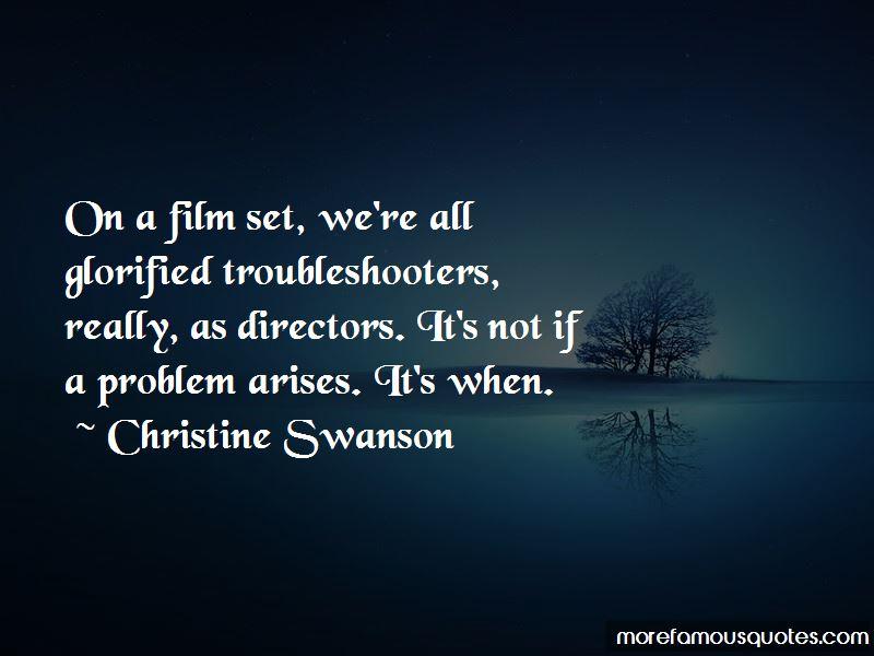 Christine Swanson Quotes Pictures 3