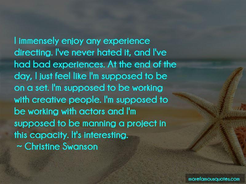 Christine Swanson Quotes Pictures 4