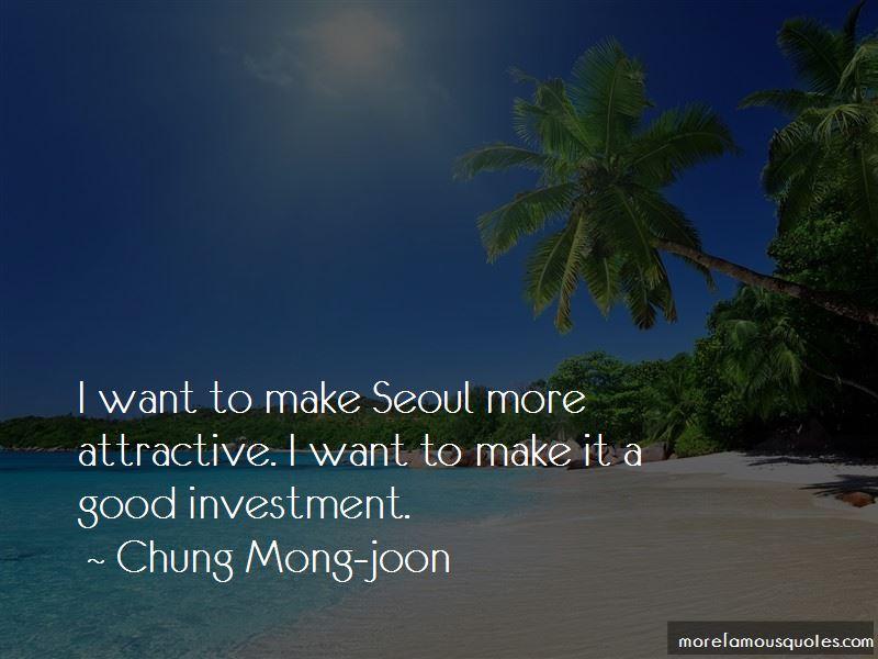 Chung Mong-joon Quotes