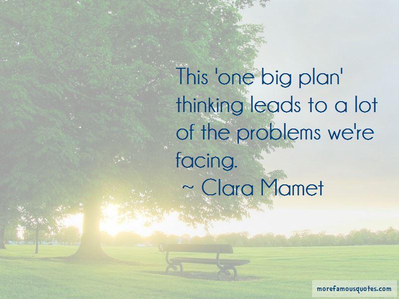 Clara Mamet Quotes