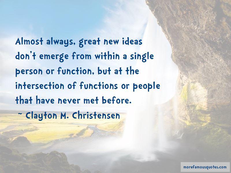 Clayton M. Christensen Quotes Pictures 2