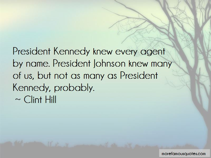 Clint Hill Quotes Pictures 4