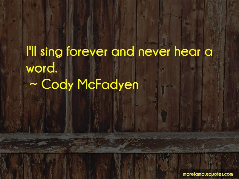 Cody McFadyen Quotes Pictures 2